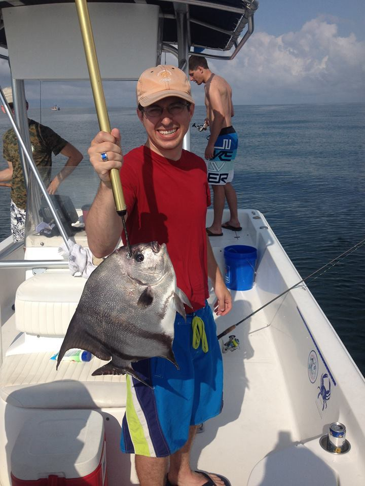 Drum Runner Charters: Dolphin, Sunset and Shelling tour