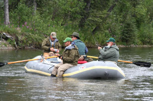 High Adventure Air Charter Guides & Outfitters: Guided River Float Trip