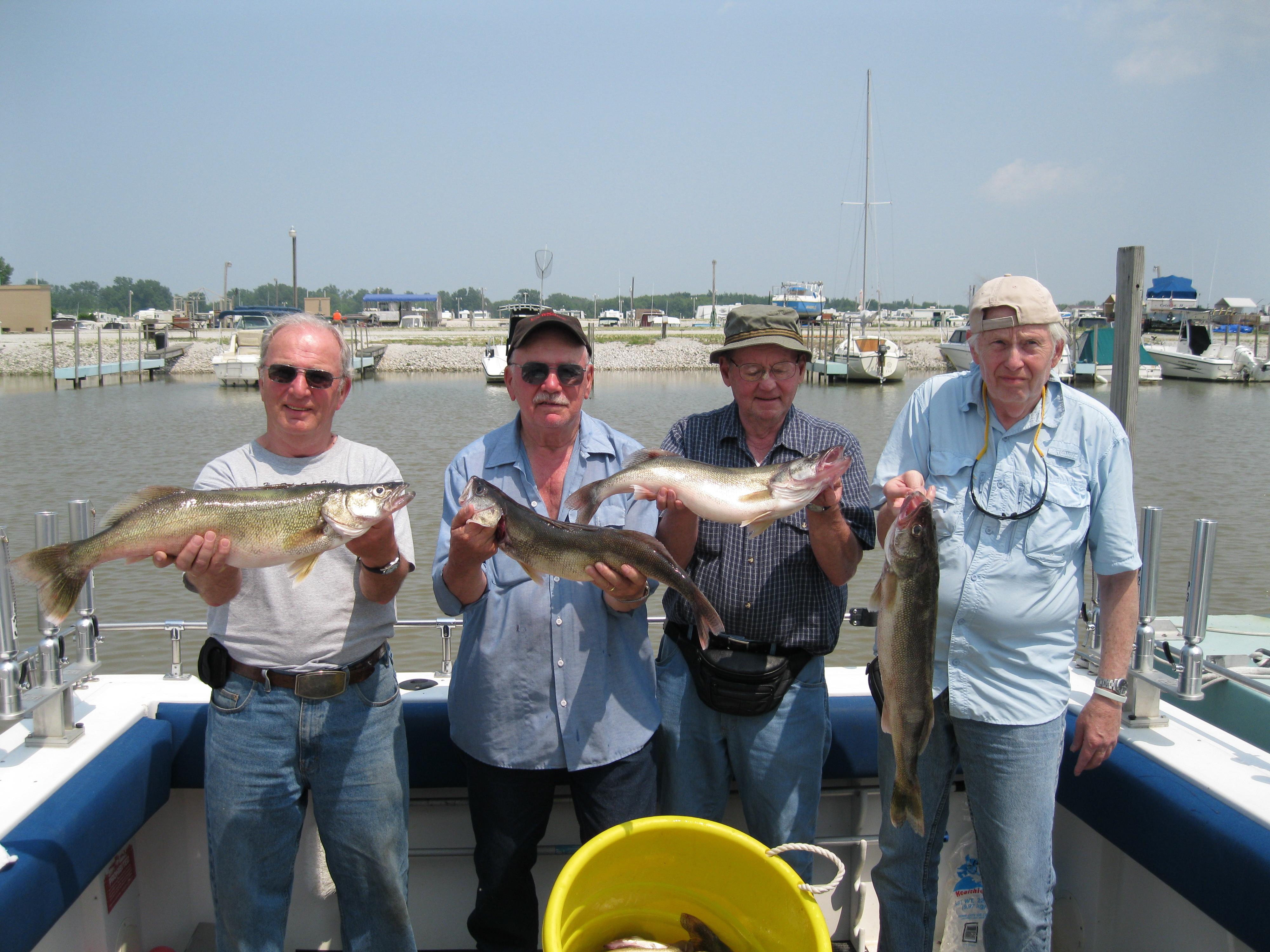 Shamrock Fishing Charters Lake Erie: Walleye Deluxe Trip