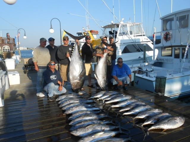Restless Lady Charters: Wilmington/Norfolk Canyons Trolling