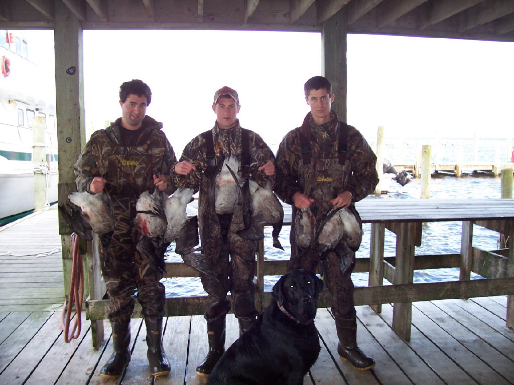 Ken Dempsey Guide Service: Waterfowl hunting