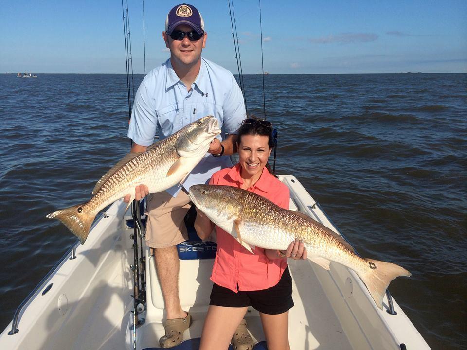 Cajun Fishing Adventures: INCLUSIVE  FISHING - 2 people to a boat