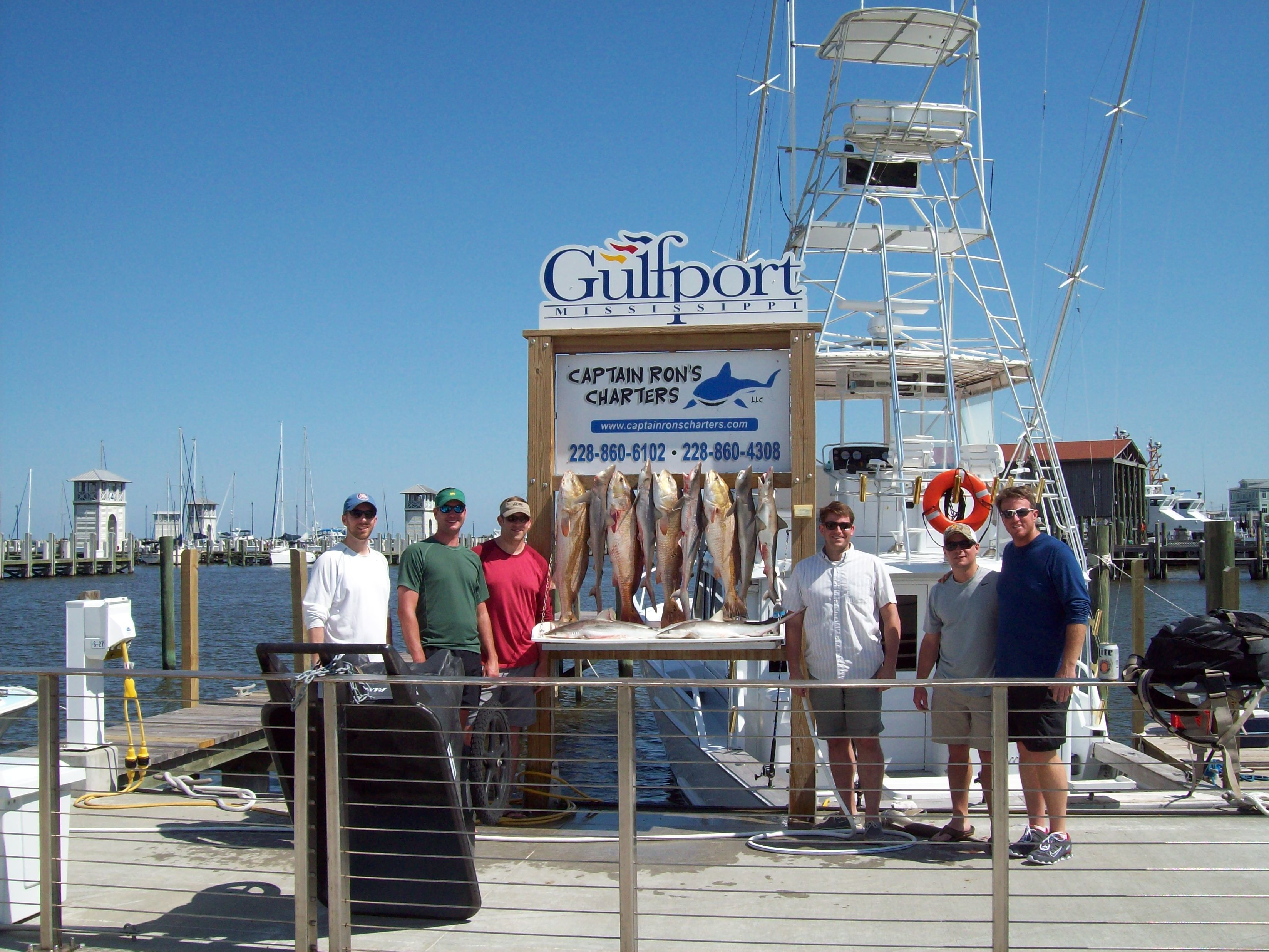 """Captain Ron's Charters Mississippi: """"On Strike"""" 6 Hour Offshore"""