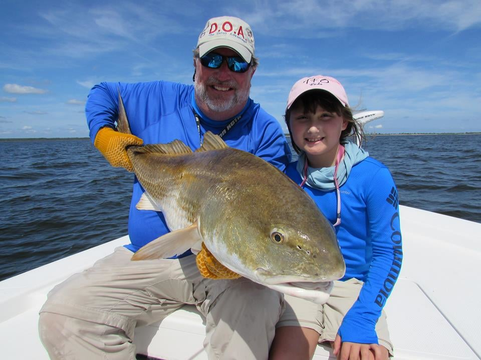Spec Fever Guide Service: Trophy Redfish full day