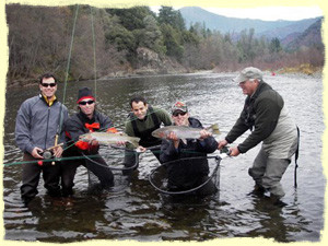 Trinity River Adventures Fishing Guide Service: Full Day Trip