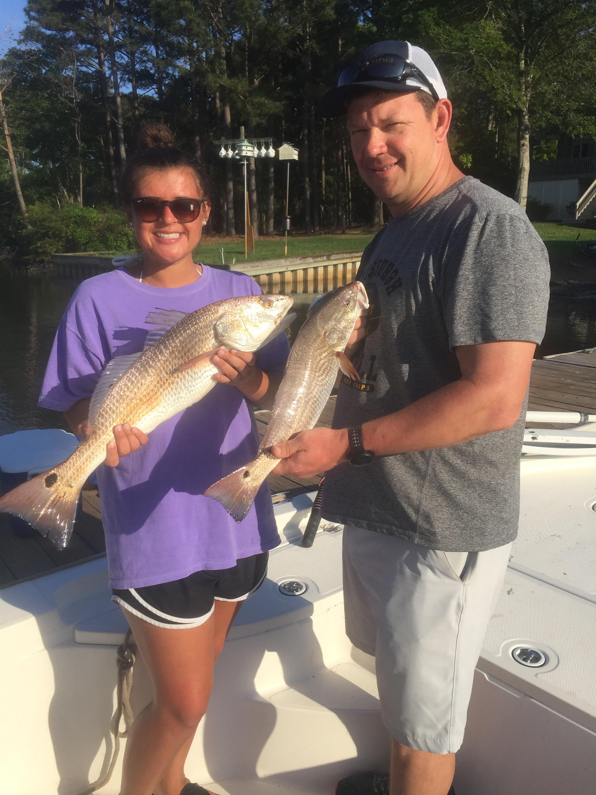Reelin Pelican Fishing: 8 Hours Inshore 1-2 Passagers