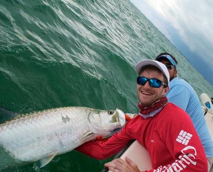 Short Drift Charters: Tarpon, Goliath Grouper (Jew fish) & Shark  (FULL DAY)