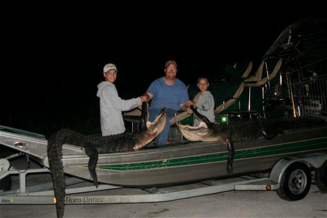 Airboat & Gator Charters: Gator Hunt - Public