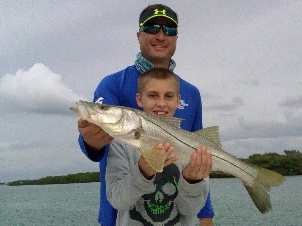 Captain Ryan Farner Fishing: Tampa Bay Inshore Fishing 1/2 Day