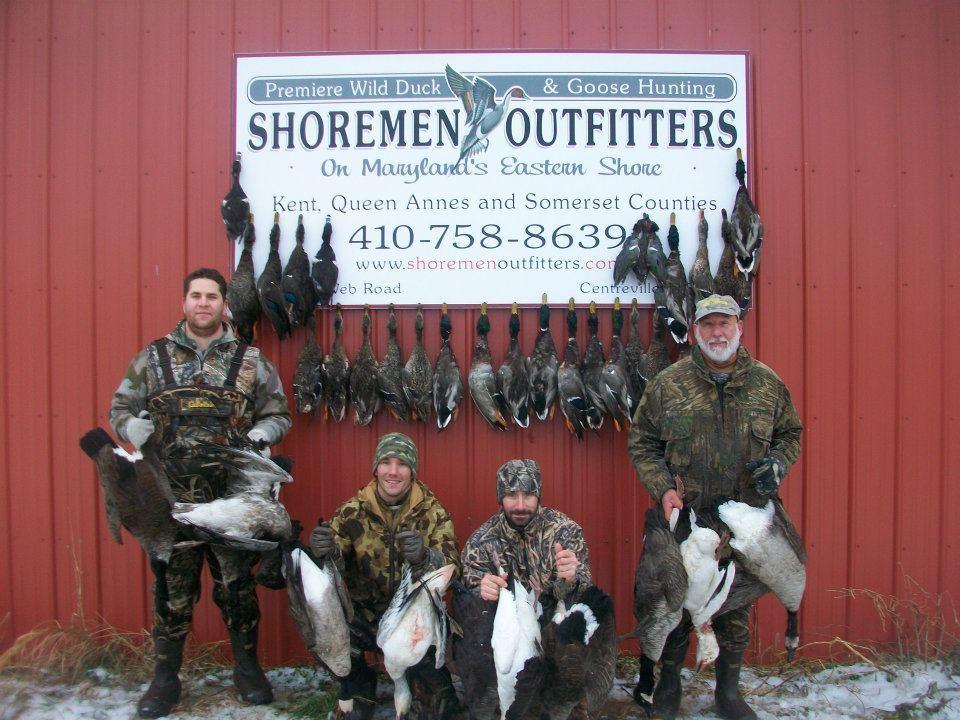 Shoremen Outfitters: Goose Hunts