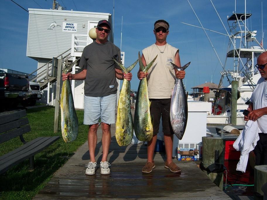 Over Board Sportfishing Charters: INSHORE TROLLING