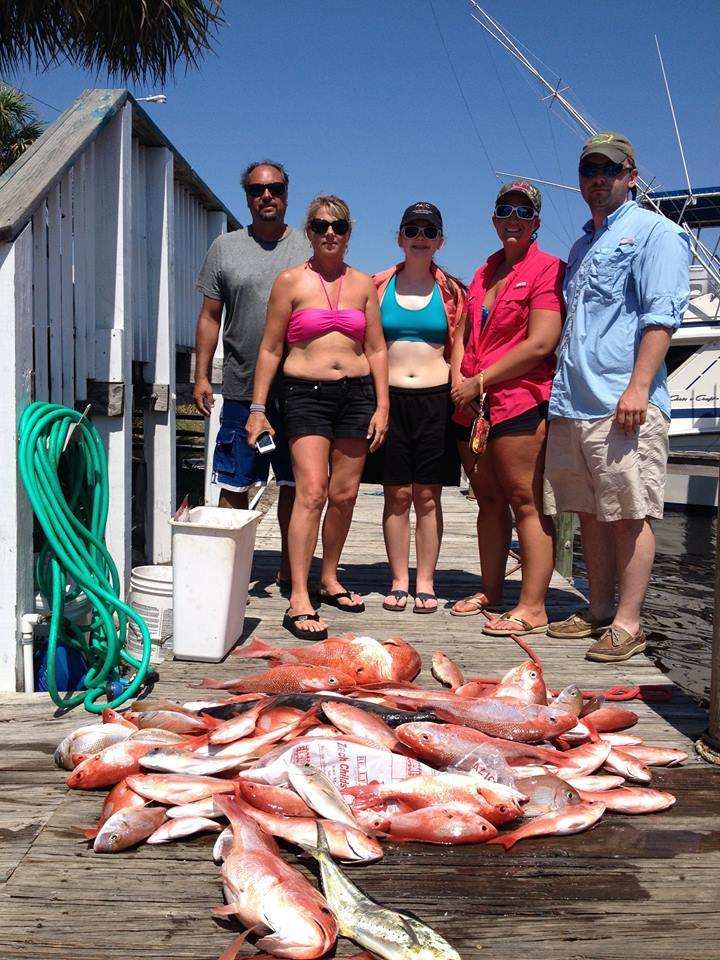 Mexico Beach Charters: Example Inshore Trip