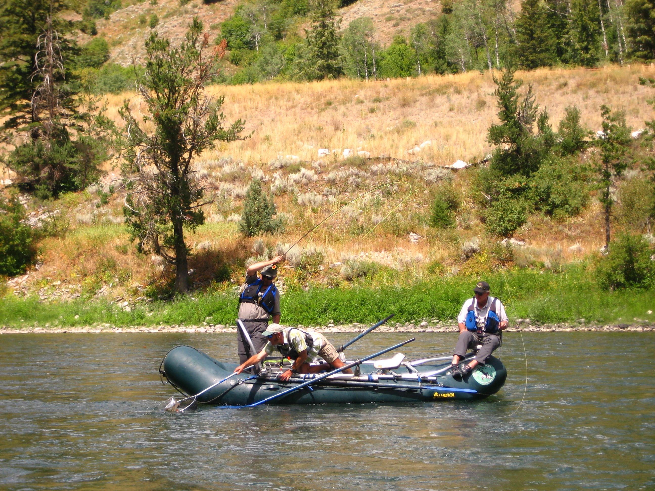Teton Troutfitters: Snake River Canyon Trip