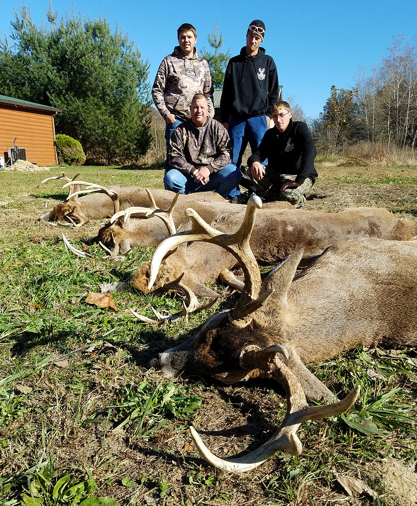 Rush Creek Outfitters: Full RUT Guided Bow Hunting