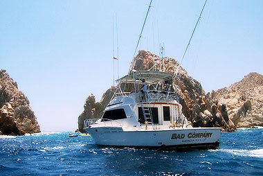 Cabo San Lucas Charters: 54 ft. Bad Company