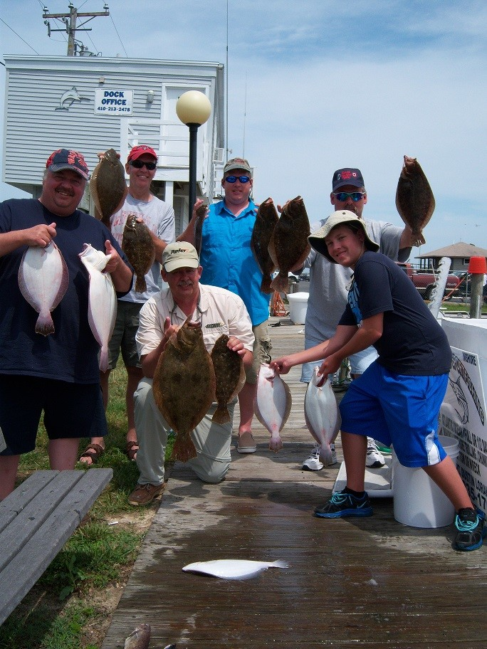 Over Board Sportfishing Charters: bottom/wreck