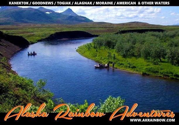 Alaska Rainbow Adventures: Goodnews River June 30th to July 7th