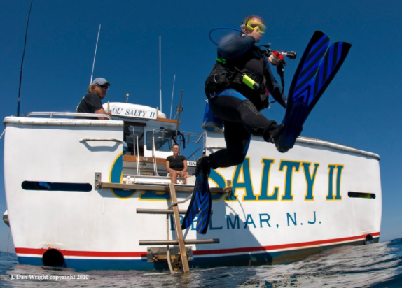 Ol Salty II Fishing And Scuba Charters: Diving