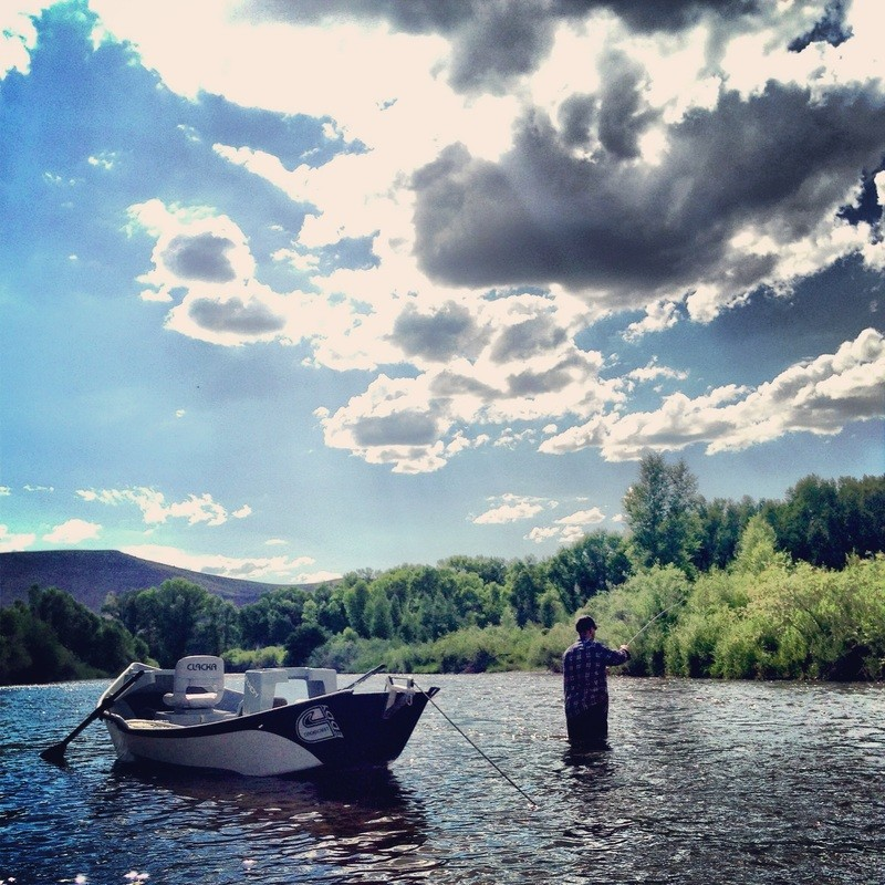 High Mountain Drifters Guide Service: Float Trip Full Day