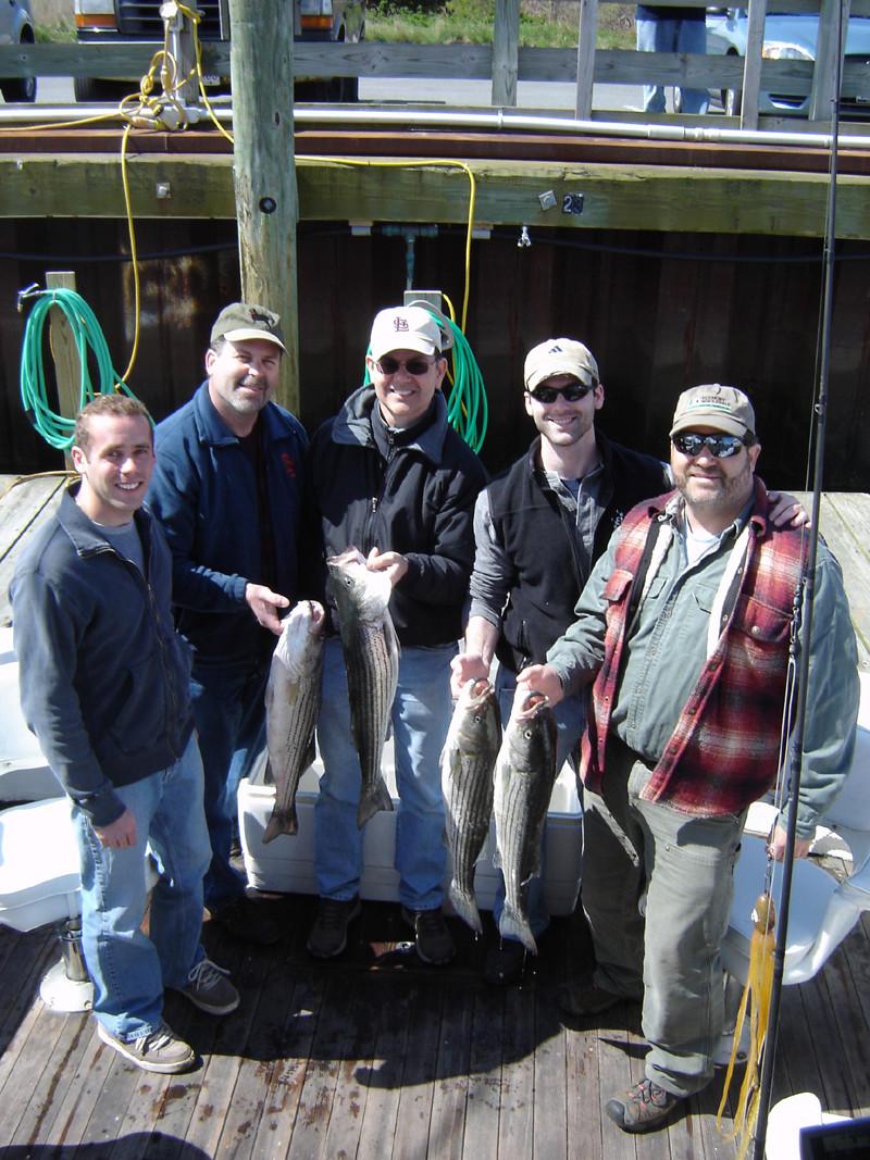 Rock Harbor Charter Service: Split Charter 1/2 Day