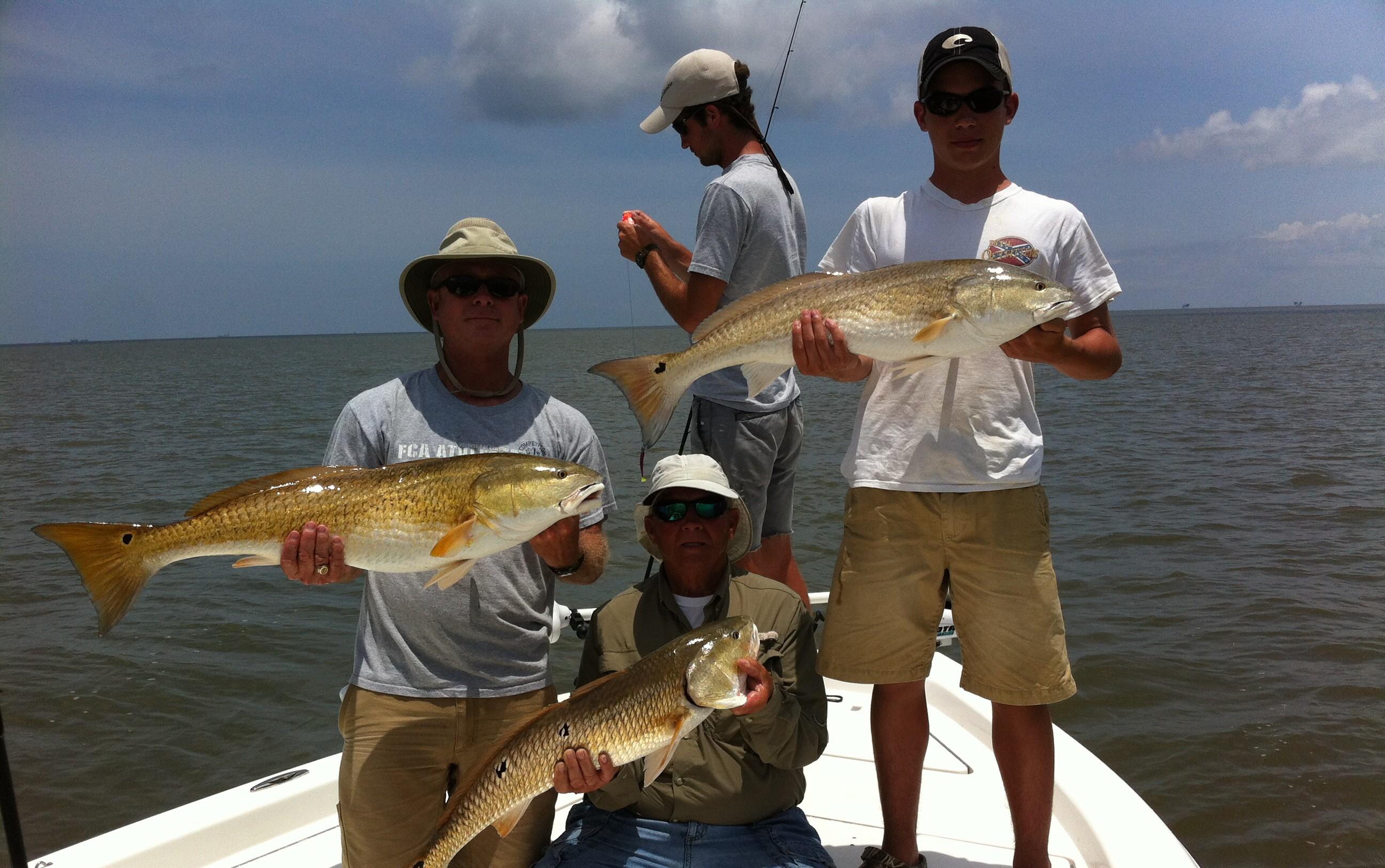 Louisiana Inshore Adventures: 4 Person Charter