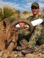 Kiowa Hunting Services: Barbary Sheep Hunts