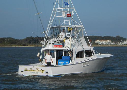 Restless Lady Charters: Coastal/Bay Fishing Trip