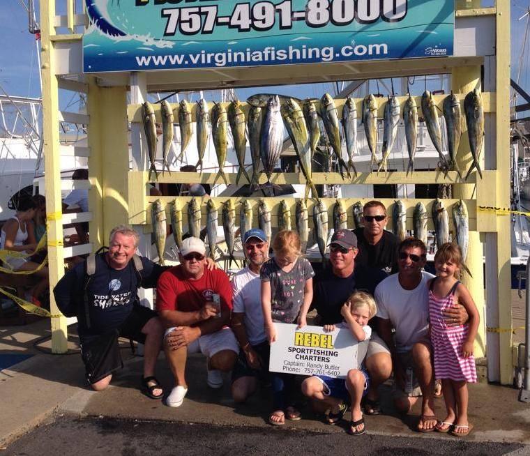 Rebel Sport Fishing: VA Beach Inshore Full Day