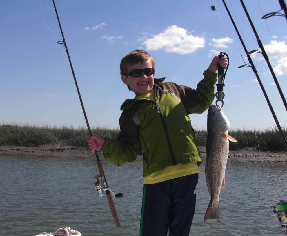 First Step Fishing Excursions: Charleston- Flats & Inshore 1/2 Day