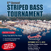 Star Island Annual Striped Bass Tournament