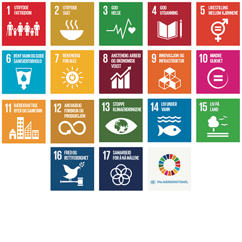 Slik jobber vi med FNs bærekraftsmål