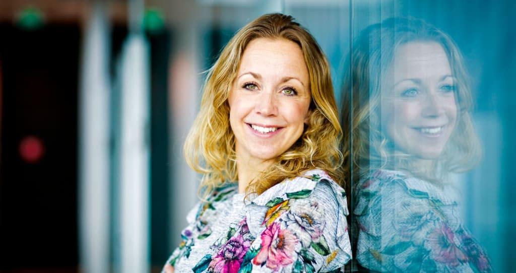 Nanna Ringstad jobber med det grønne skiftet i Finansforbundet.