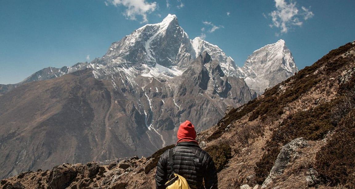 Mount Everest er et av verdens største fjell. For å nå toppen, må du være veldig tålmodig. FOTO: Unsplash