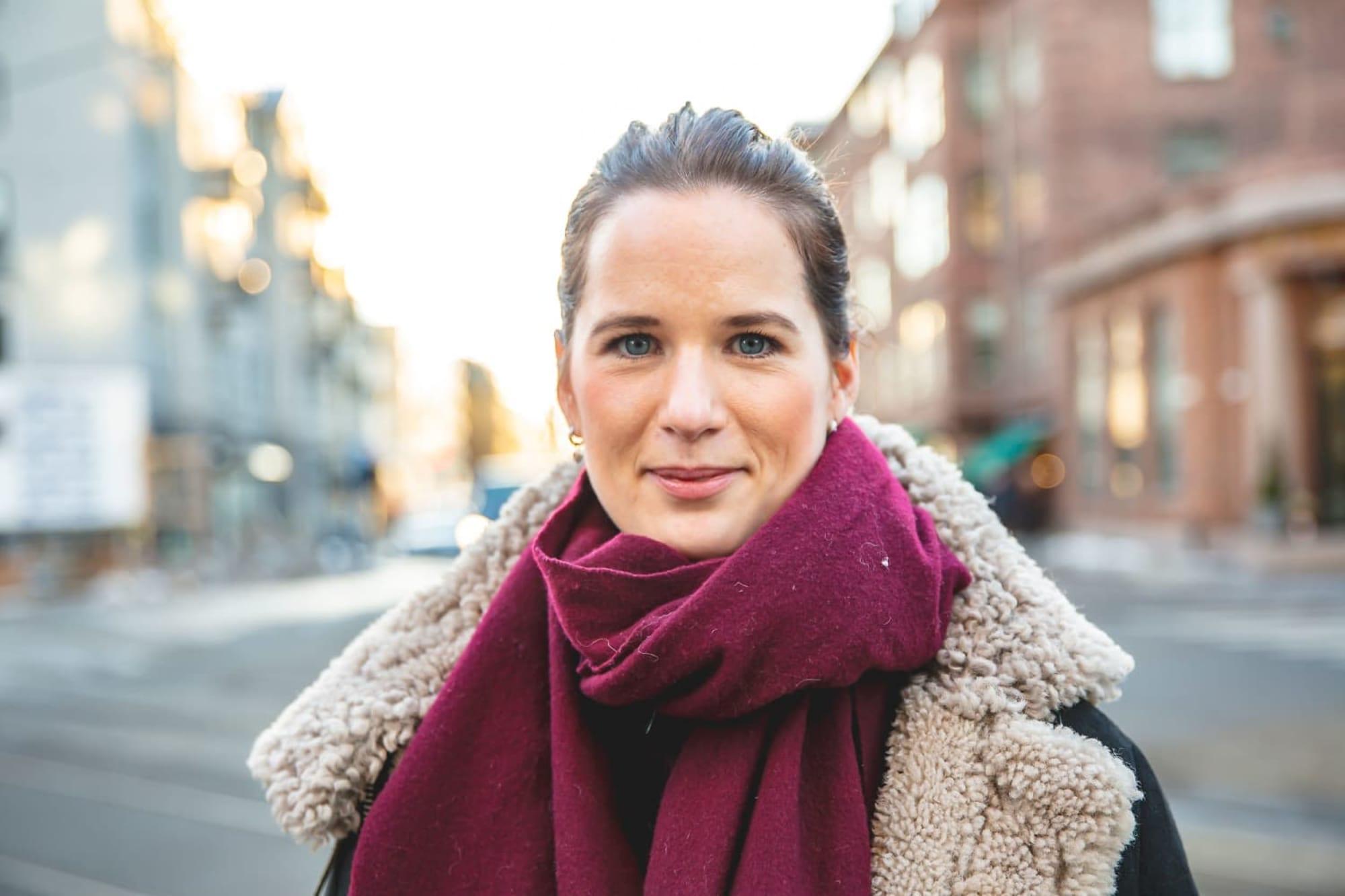 STØRRE VILJE I DAG: Det siste halvåret har Marie Louise Sunde vært mye sint og frustrert, men hun lar ikke det komme til syne i likestillingsarbeidet sitt. – Løsningen er mye vanskeligere med en gang man får en konflikt.