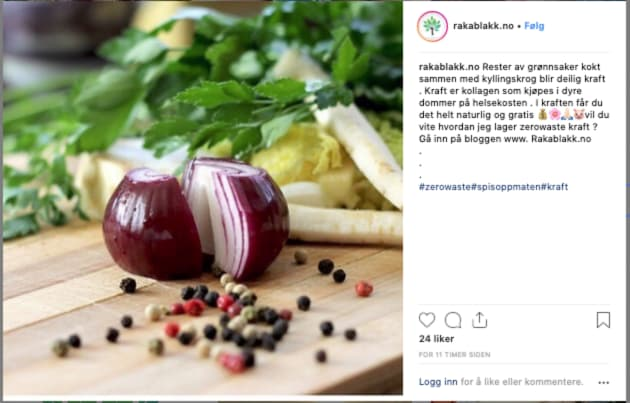 INSTAGRAM: Økonomi på Instagram kombinerer bærekraftige løsninger i hverdagen med sparing. Mindre forbruk frigjør også tid.