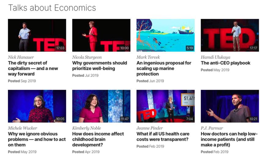 Ted Talks handler om at gode ideer bør deles. Lytt og lær!