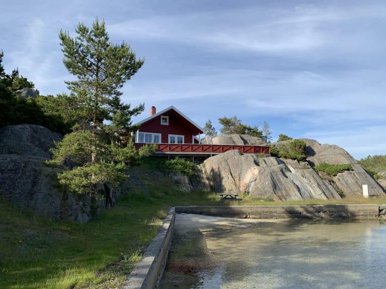 Hytter i Homborsund