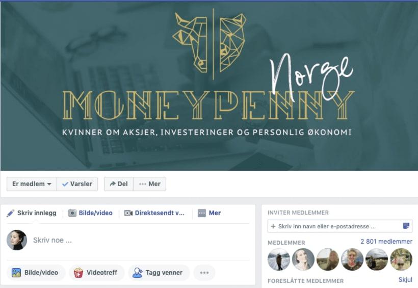 Gjennom Facebook-gruppen Moneypenny har Beate Engelschiøn fått flere tusen kvinner (også uten økonomibakgrunn) til å snakke investeringer.