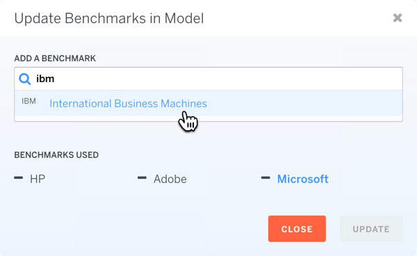 Model Search Benchmark