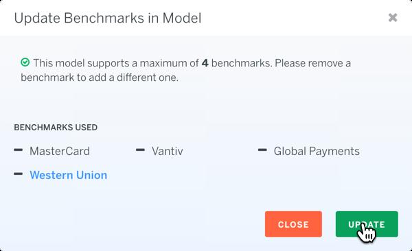 Model Update Benchmarks