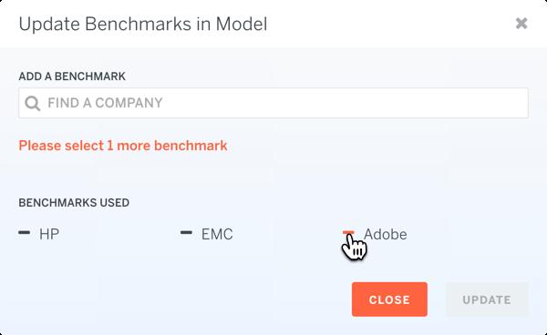 Model Remove Benchmark