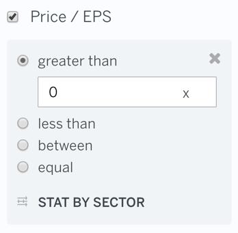 P/E Ratio (LTM)