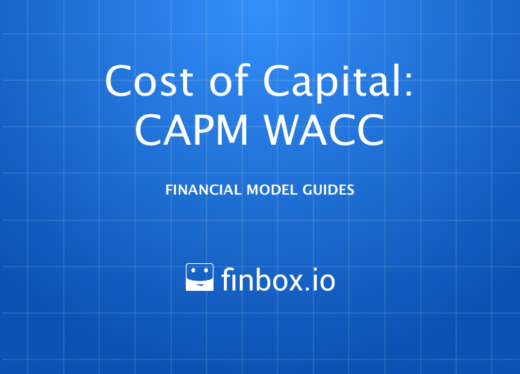 Weighted Average Cost of Capital  (WACC) Model