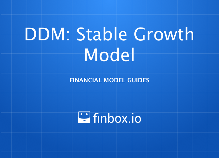 Dividend Discount Model: Stable Growth