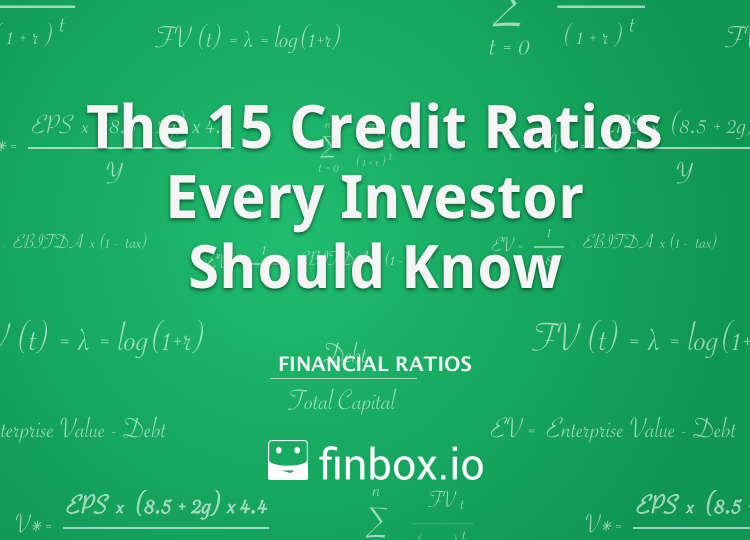 The 15 Credit Ratios Every Investor Should Know