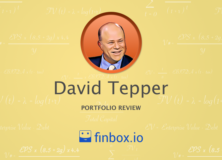 The 7 Most Undervalued Stocks In David Tepper's Portfolio