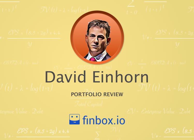 David Einhorn's 7 Largest Stock Holdings