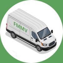 find my man and van removals van vector image