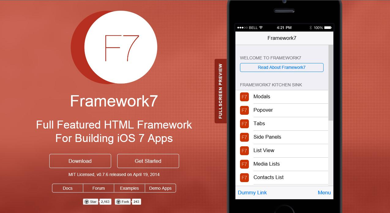 F7 (or Framework 7) | Find All Together