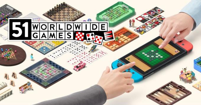 Nintendo Switch saa pelikokoelman 51 Worldwide Games - mukana lautapelejä, pokeri, pasianssi...